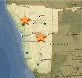 Namibiakarte