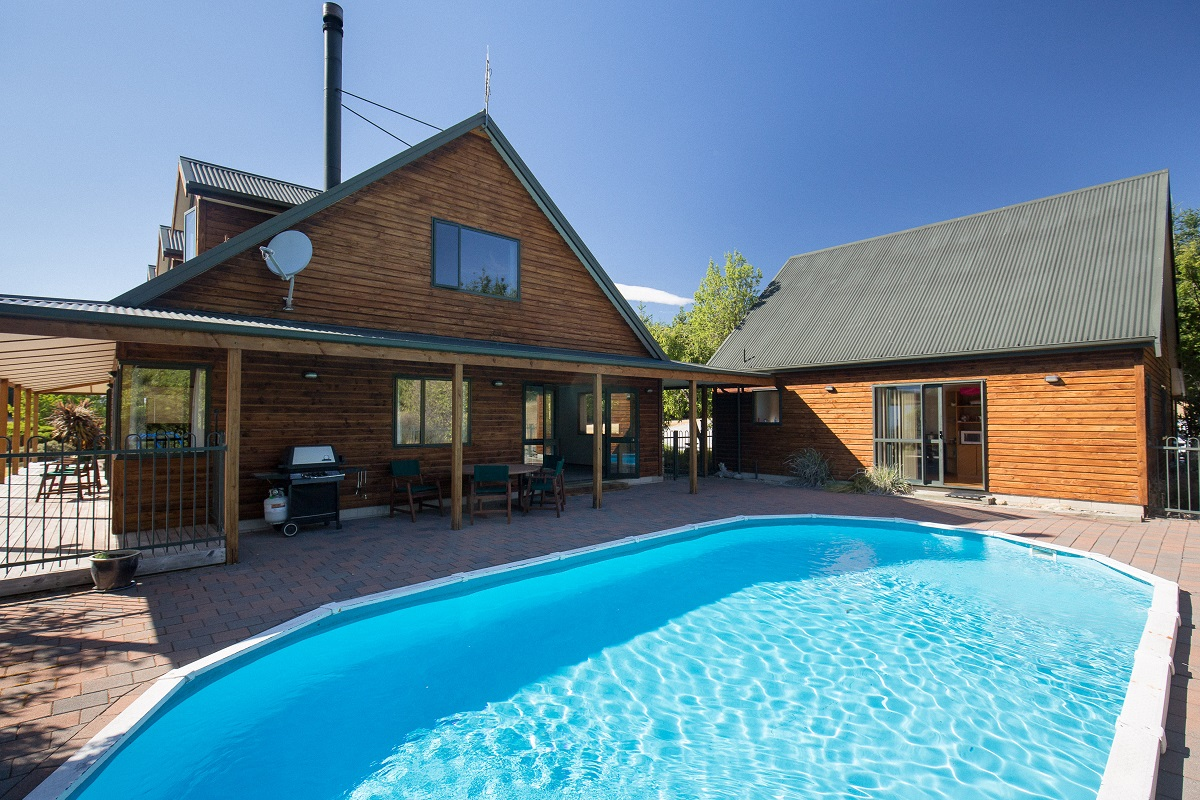 Neuseeland Lodge