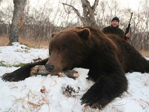 bear Hunting in Russia - Kamchatka