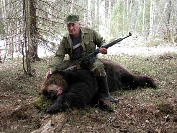 bear Hunting in Russia - Perm