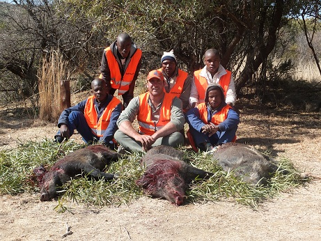 driven hunt Hunting in Southafrica